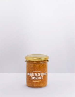 SELFRIDGES SELECTION Limited Edition Amber Raspberry Conserve 210g
