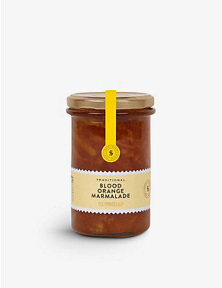 SELFRIDGES SELECTION: Traditional blood orange marmalade 340g