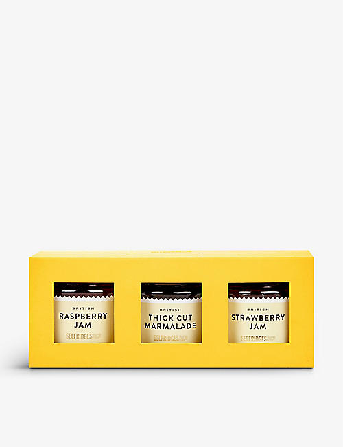 SELFRIDGES SELECTION: British Preserve Trio 110g