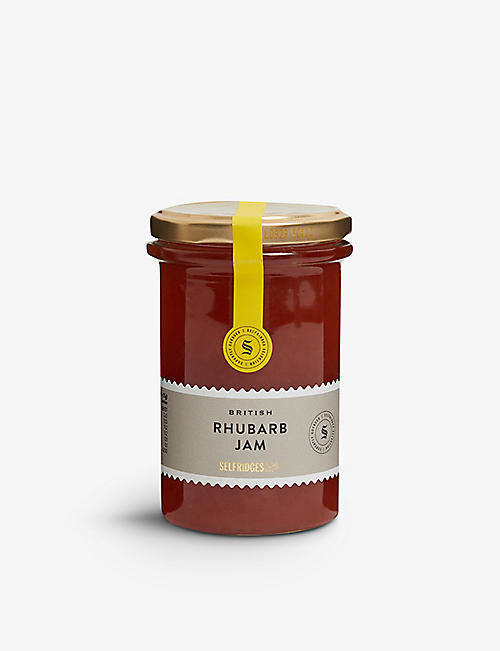 SELFRIDGES SELECTION British Rhubarb Jam 340g