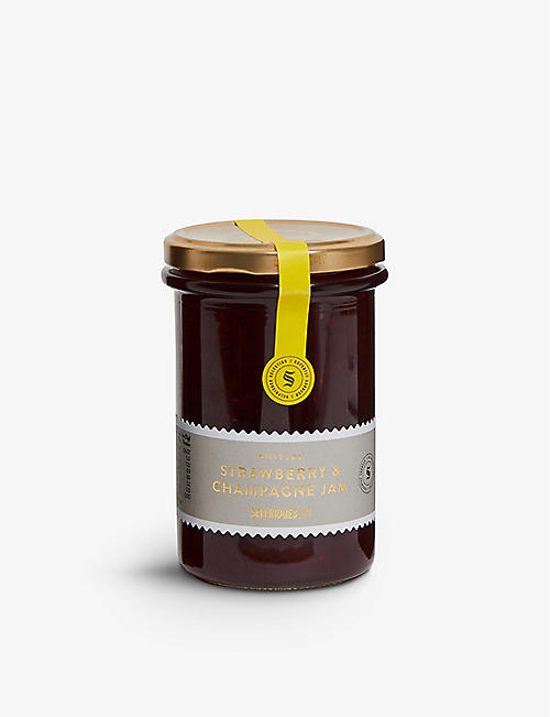 SELFRIDGES SELECTION British Strawberry and Champagne Jam 340g