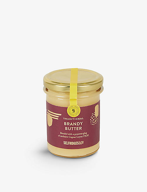 SELFRIDGES SELECTION Traditional Brandy Butter 210g