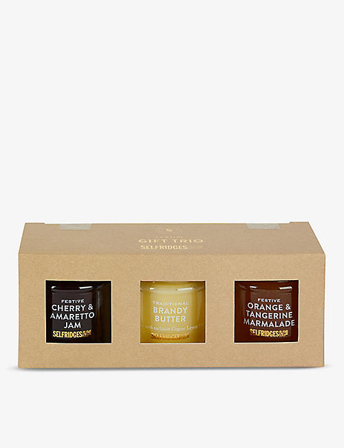 SELFRIDGES SELECTION Festive Preserve Trio 325g