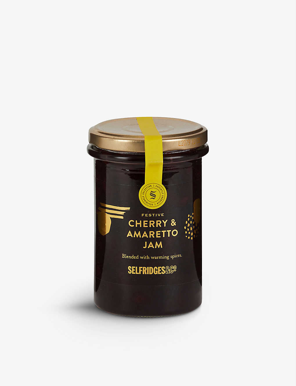 SELFRIDGES SELECTION: Festive Cherry and Amaretto jam 340g