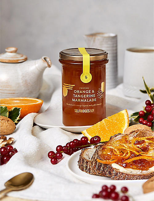 SELFRIDGES SELECTION Festive Orange and Tangerine Marmalade 340g