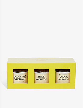 SELFRIDGES SELECTION: Traditional Marmalade Trio 3x110g