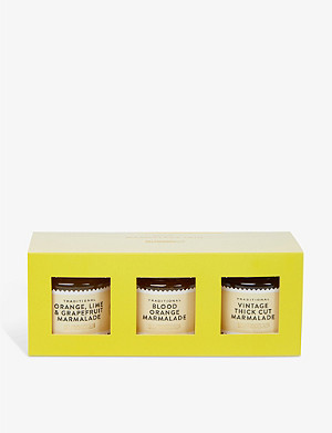 SELFRIDGES SELECTION Traditional Marmalade Trio 3x110g