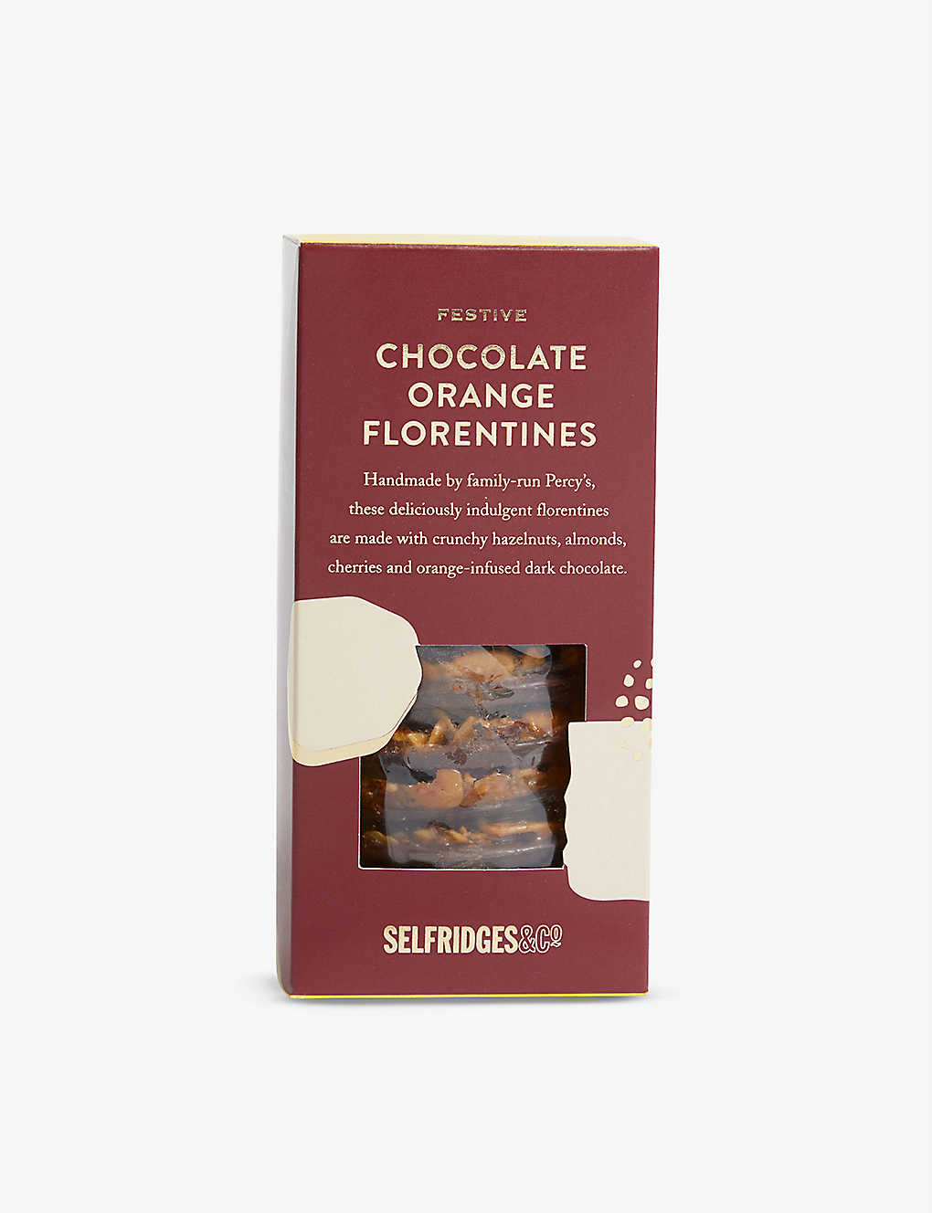 SELFRIDGES SELECTION: Festive Chocolate Orange Florentines 205g