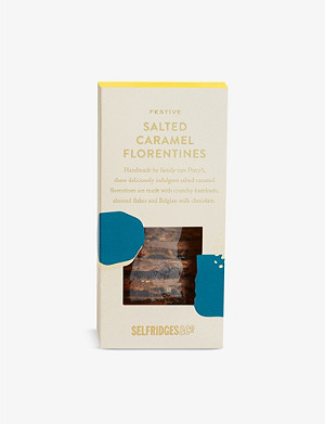 SELFRIDGES SELECTION Festive Salted Caramel Florentines 205g