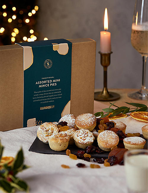SELFRIDGES SELECTION Traditional Assorted Mini Mince Pies 210g