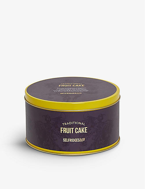 SELFRIDGES SELECTION: Rich Fruit Cake 450g