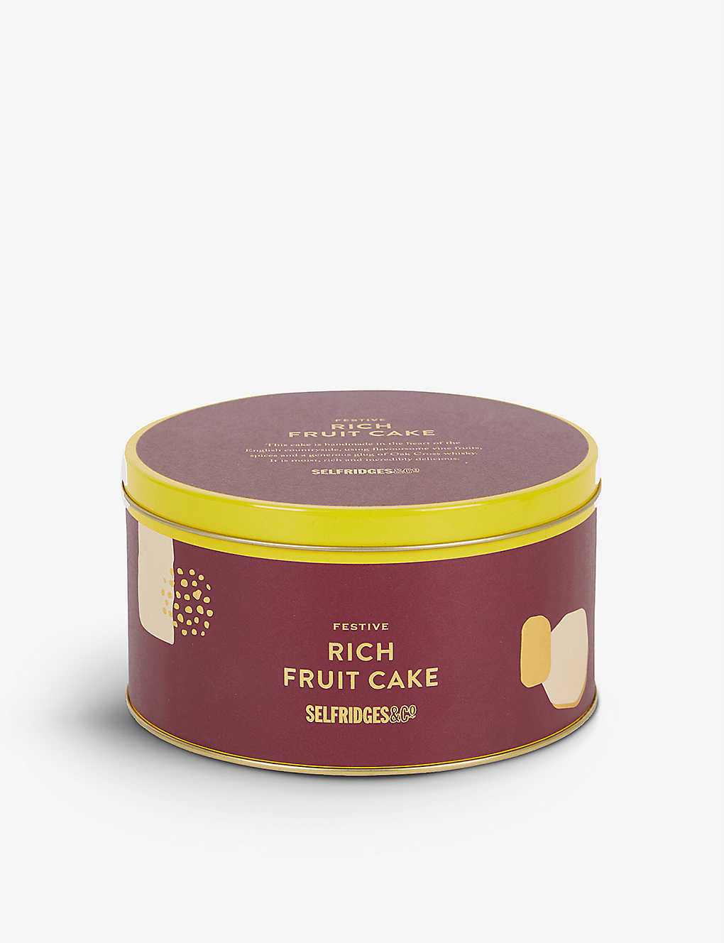 SELFRIDGES SELECTION: Festive Rich Fruit Cake 450g