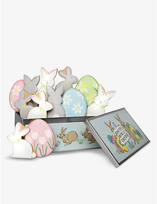 BISCUITEERS: Easter Party Luxe biscuit tin 275g