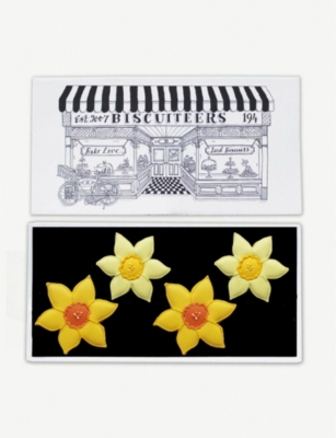 BISCUITEERS Daffodils biscuit card 15g