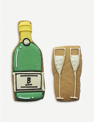 BISCUITEERS: Champagne biscuit card 15g