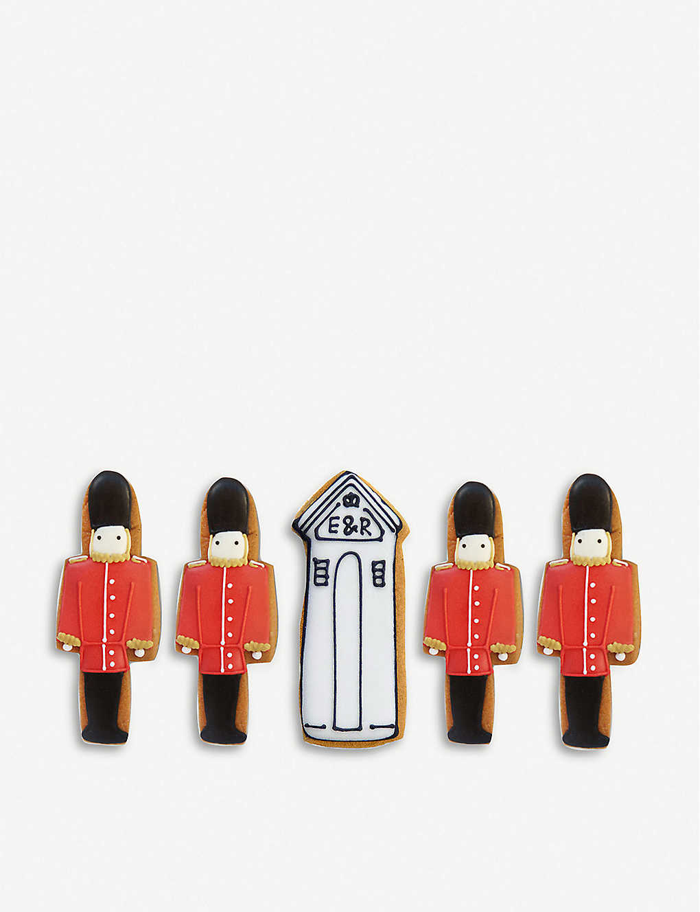 BISCUITEERS: Queen's guard biscuit gift box