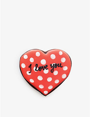 BISCUITEERS: I Love You biscuit card 15g