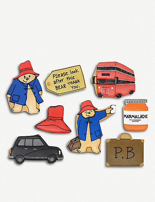BISCUITEERS  Paddington bear  BISCUITS  BOX 共8个