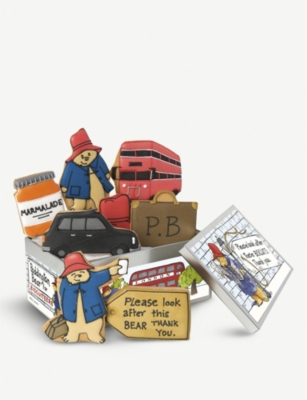 BISCUITEERS Paddington bear biscuits box of eight