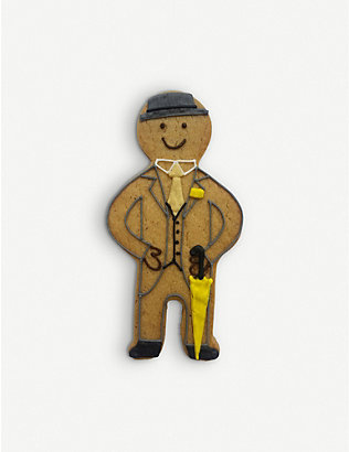 BISCUITEERS: Jolly Ginger Selfridges Doorman gingerbread biscuit 15g