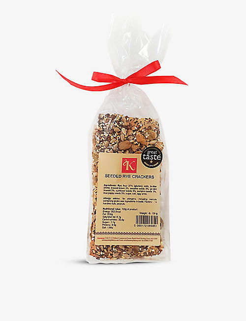 KARAWAY BAKERY: Seeded rye crackers 180g