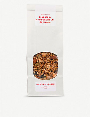 MELROSE & MORGAN: Blueberry and buckwheat granola 400g