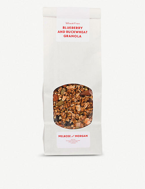 MELROSE & MORGAN Blueberry and buckwheat granola 400g