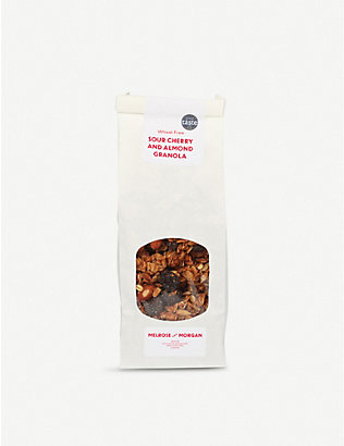 MELROSE & MORGAN: Sour cherry and almond granola 400g