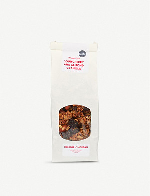 MELROSE & MORGAN Sour cherry and almond granola 400g