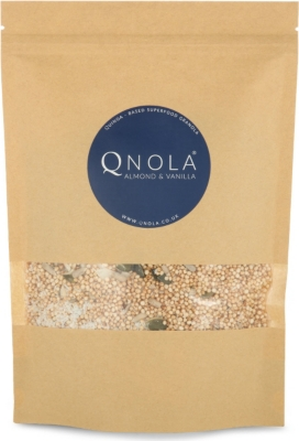 QNOLA Almond and vanilla quinoa-based superfood granola 250g