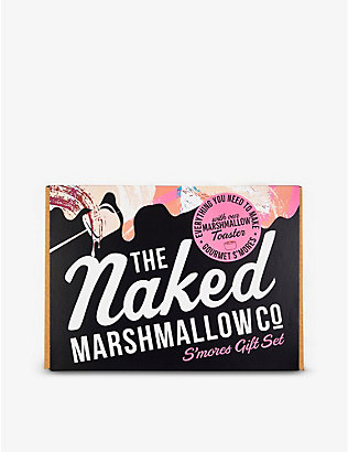 THE NAKED MARSHMALLOW: S'Mores gourmet marshmallows kit 1kg