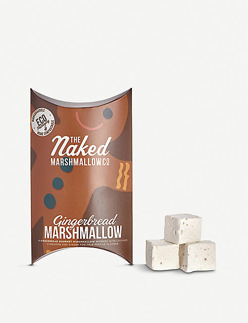 THE NAKED MARSHMALLOW Gingerbread gourmet marshmallows 100g