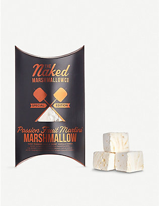 THE NAKED MARSHMALLOW: Passionfruit Martini gourmet marshmallows 100g