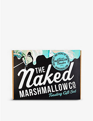 THE NAKED MARSHMALLOW: Marshmallow toasting kit 750g