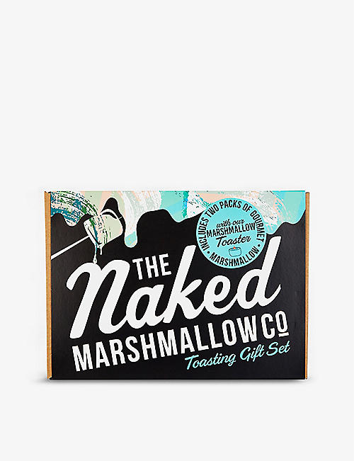 THE NAKED MARSHMALLOW: Marshmallow toasting kit