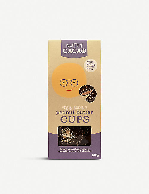 NUTTY CACAO: Vegan peanut butter cups 100g