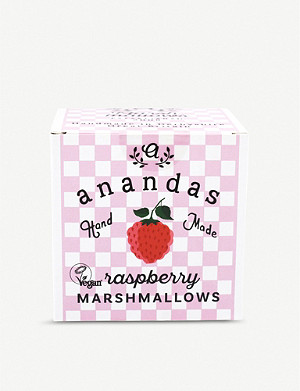 ANANDA'S Raspberry marshmallows 80g