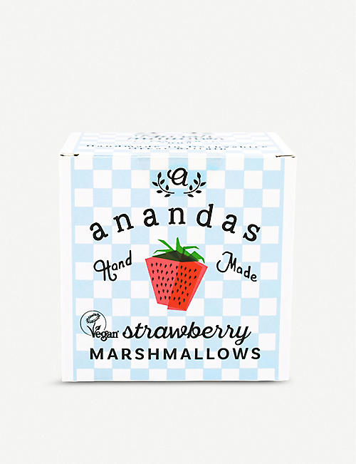 ANANDA'S: Strawberry marshmallows 80g