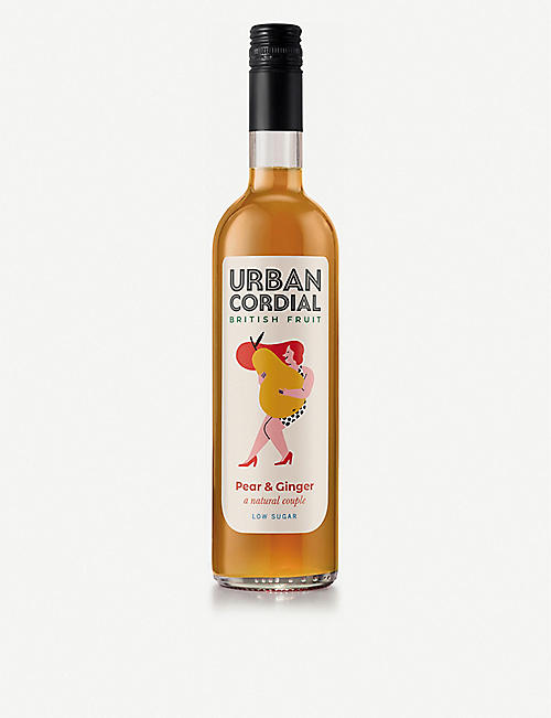 URBAN CORDIAL Pear and ginger cordial 500ml