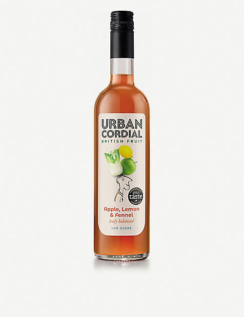 URBAN CORDIAL Apple, lemon and fennel cordial 500ml