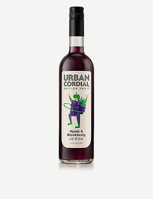 URBAN CORDIAL: Apple and blackberry cordial 500ml