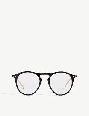 b780fbd2abc LINDA FARROW - LFL182 oval-frame glasses