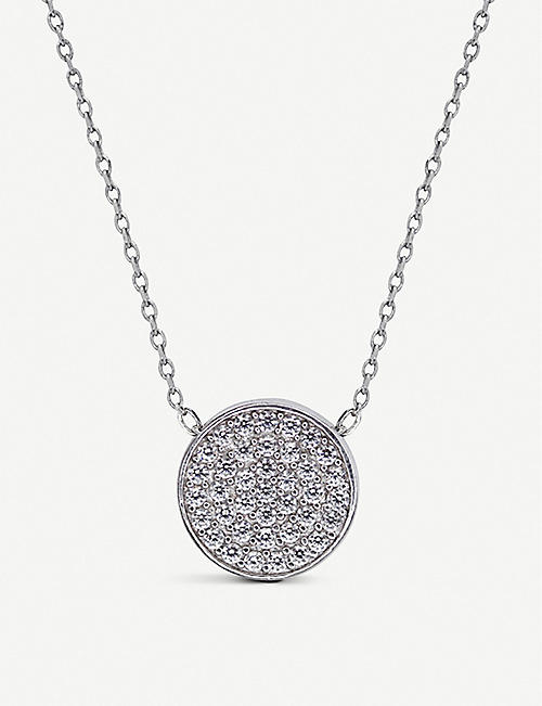 CARAT LONDON: Gala sterling silver and gemstone necklace