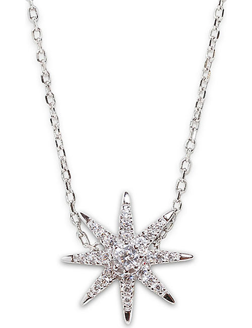 CARAT LONDON Atrias silver necklace
