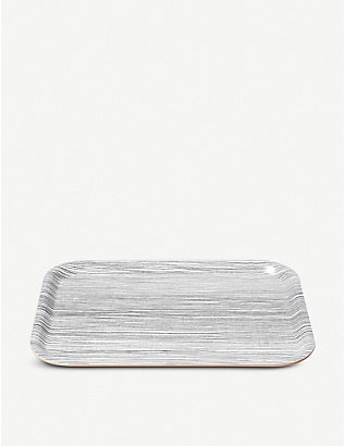 THE CONRAN SHOP: Line birch veneer tray 20cm x 27cm