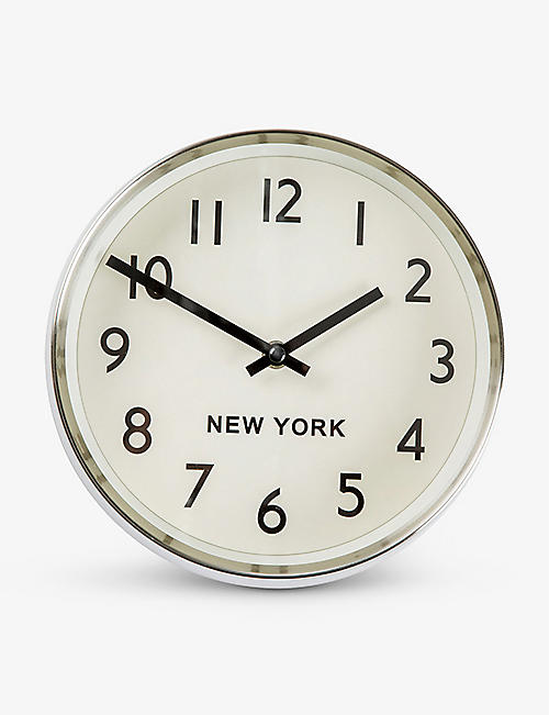 THE CONRAN SHOP: New York Time Zone Clock 21cm