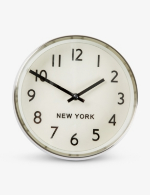 THE CONRAN SHOP New York Time Zone Clock 21cm