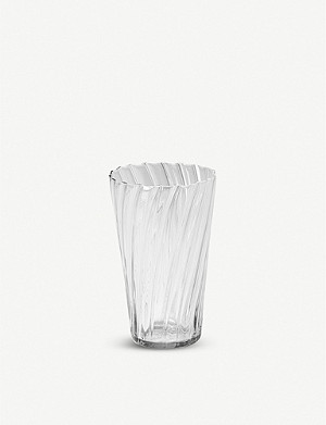 THE CONRAN SHOP Babylone recycled-glass tumbler 14cm