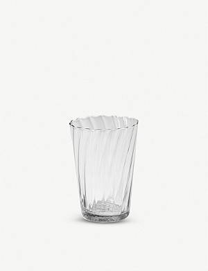 THE CONRAN SHOP Babylone recycled-glass tumbler 11cm