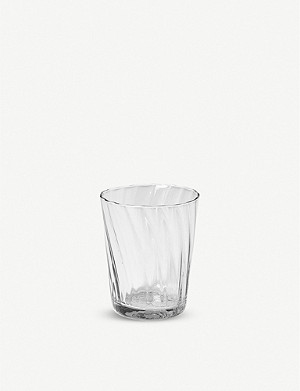 THE CONRAN SHOP Babylone recycled-glass tumbler 9cm